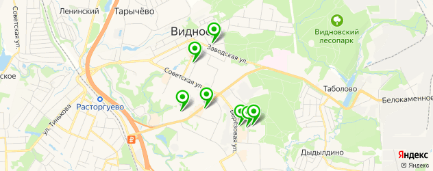 пирсинги салон на карте Видного