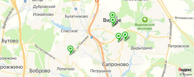 живая музыка на карте Видного