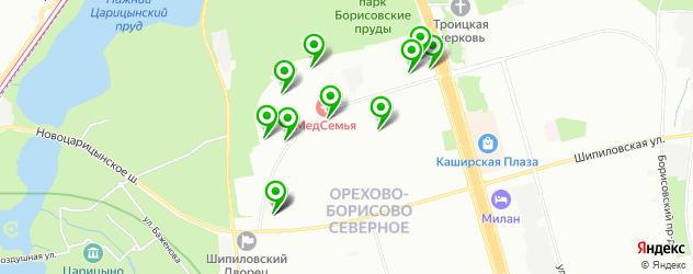 парикмахерские на карте улицы Маршала Захарова