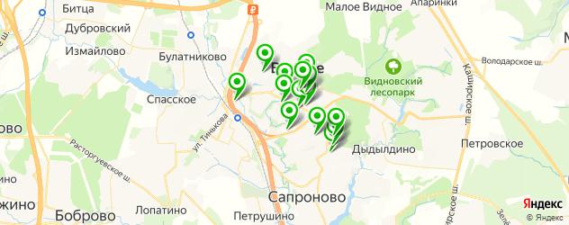 сервисные центры на карте Видного