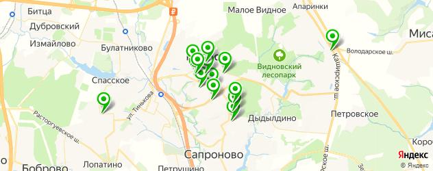 детские клубы на карте Видного