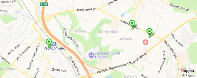 часовые мастерские на карте Видного