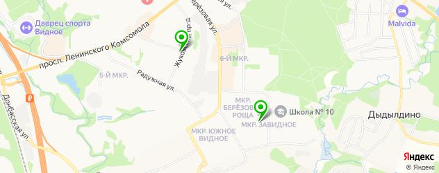 пивные рестораны на карте Видного