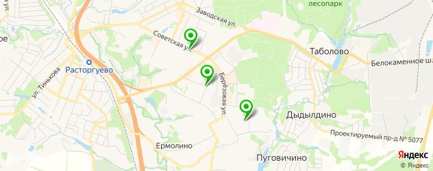 бары на карте Видного