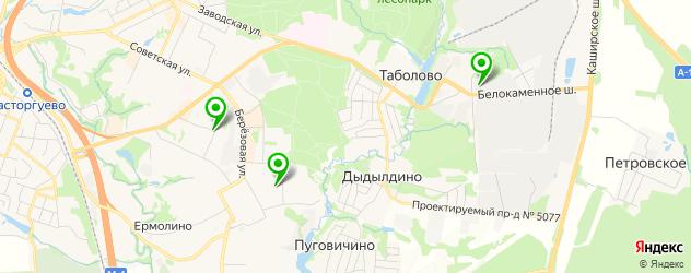 пабы на карте Видного