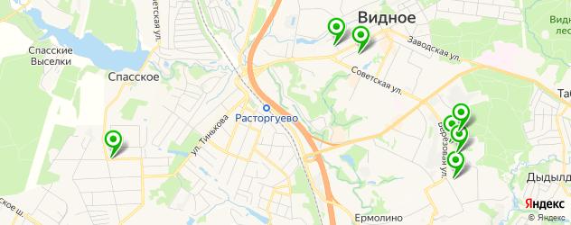центры раннего развития на карте Видного