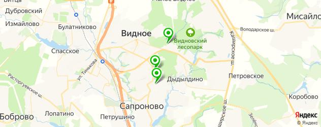 СПА салон на карте Видного