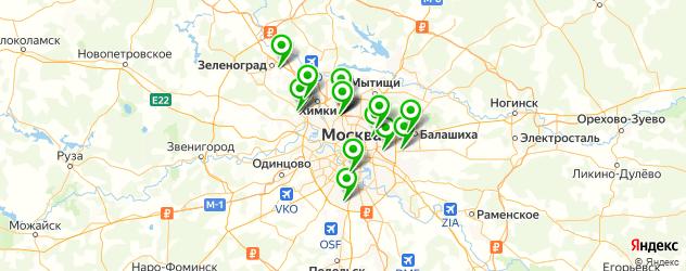 ремонт снегоуборщиков на карте Москвы