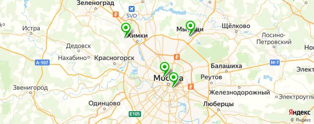 театральные колледжи на карте Москвы