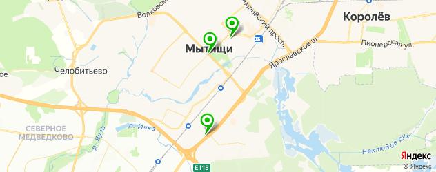 диагностика дизельных двигателей на карте микрорайона Тайнинка