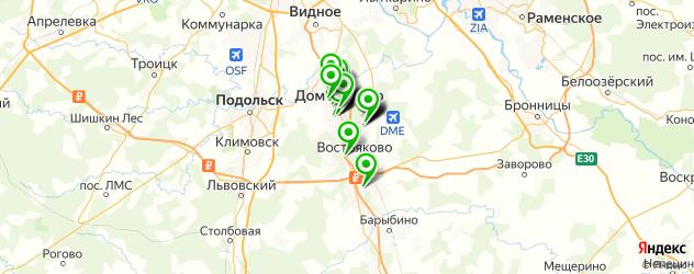 банкоматы на карте Домодедово