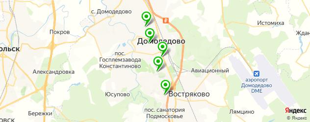 салоны бровей на карте Домодедово
