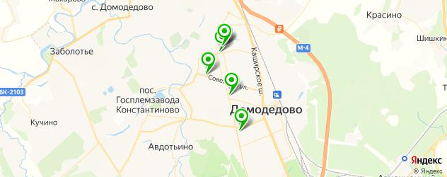 Доставка шашлыка на карте Домодедово