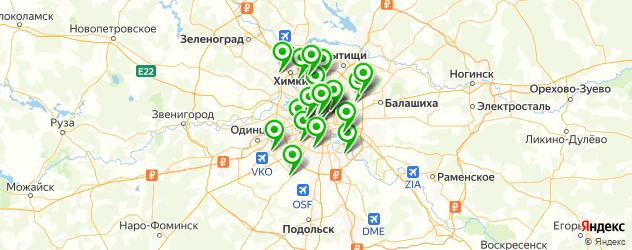 визажист на карте Москвы