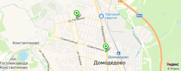 сервисные центры Самсунг на карте Домодедово