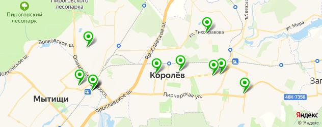 ортопедические магазины на карте Королева