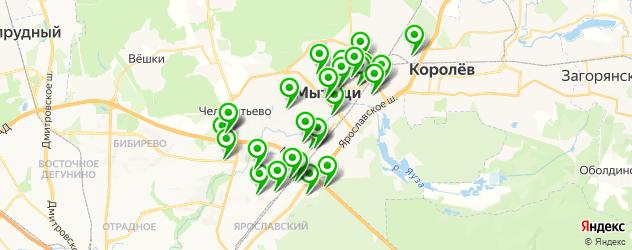 дома быта на карте Мытищ