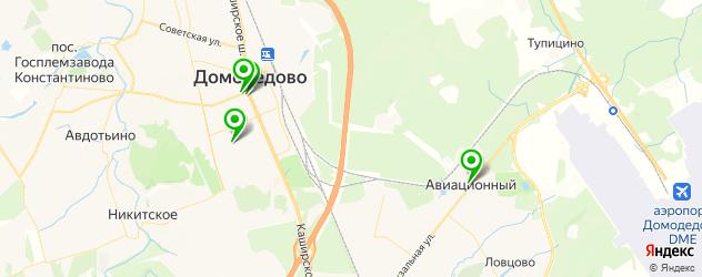 фотостудии на карте Домодедово