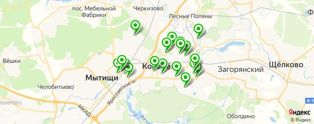 рестораны для дня рождения на карте Королева