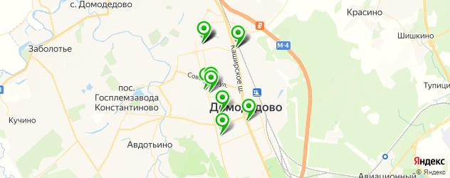 Доставка завтраков на карте Домодедово