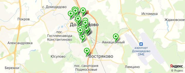студии маникюра на карте Домодедово