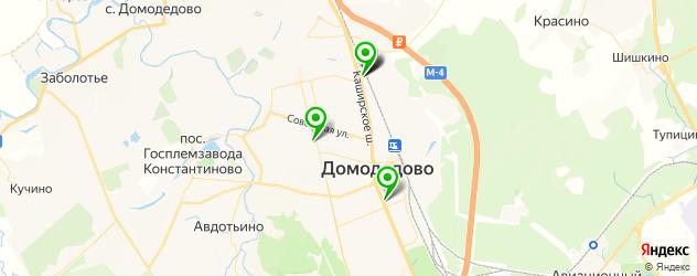 суши-бары на карте Домодедово