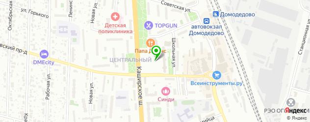 компьютерные клубы на карте Домодедово