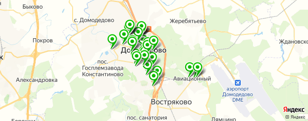 новый год на карте Домодедово