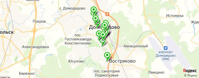 массажные салоны на карте Домодедово