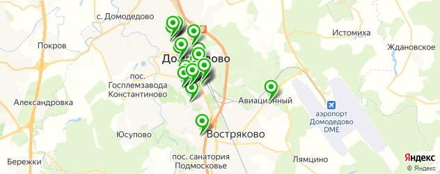 салоны красоты на карте Домодедово