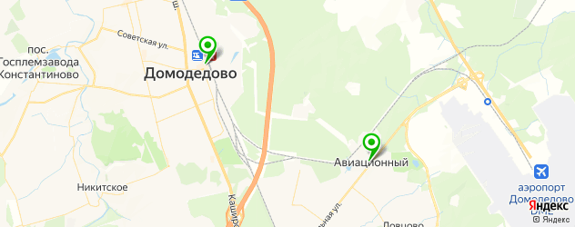 ломбарды на карте Домодедово