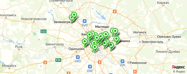 ремонт хлебопечек на карте Москвы
