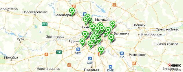 Ремонт Dell на карте Москвы
