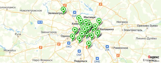 Ремонт планшетов Dell на карте Москвы