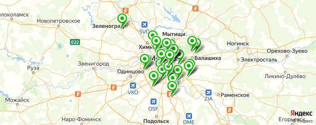 Ремонт телефонов iPhone 7 на карте Москвы