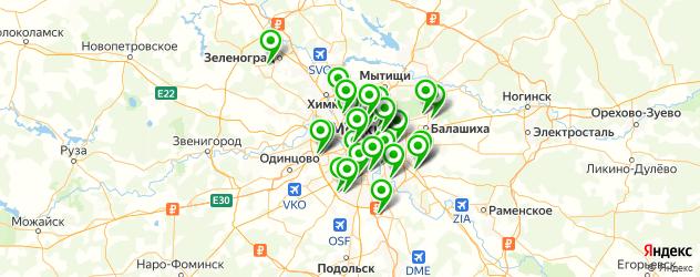 срочный ремонт ноутбуков на карте Москвы