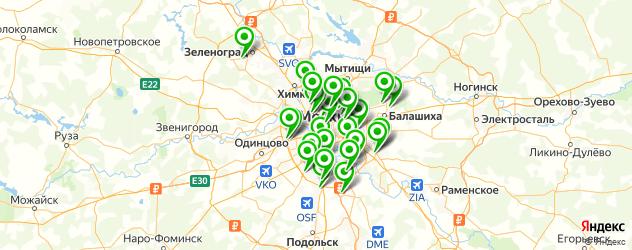 мастерские по ремонту компьютеров на карте Москвы