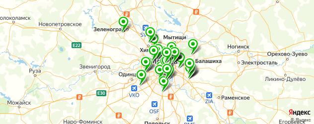 сервисные центры iRobot на карте Москвы