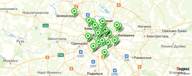 сервисные центры aйфон на карте Москвы
