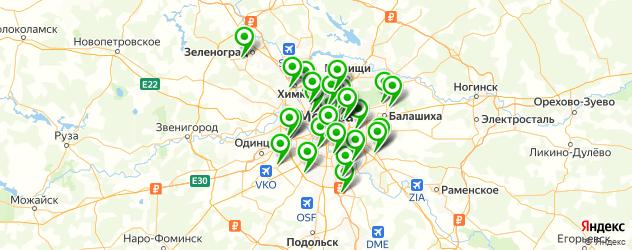 Ремонт планшетов АСУС на карте Москвы