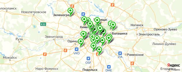 сервисные центры Леново на карте Москвы
