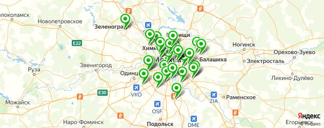 сервисные центры Нокиа на карте Москвы