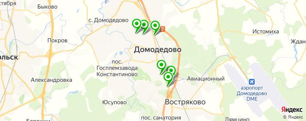 караоке на карте Домодедово