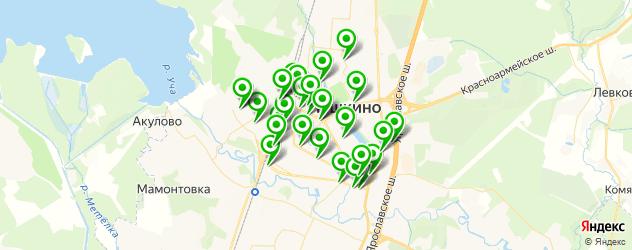 мастерские на карте Пушкино
