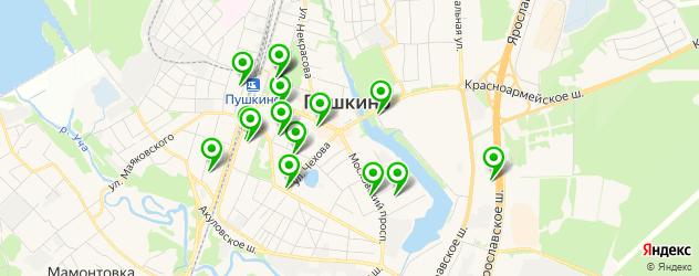 компьютерные помощи на карте Пушкино