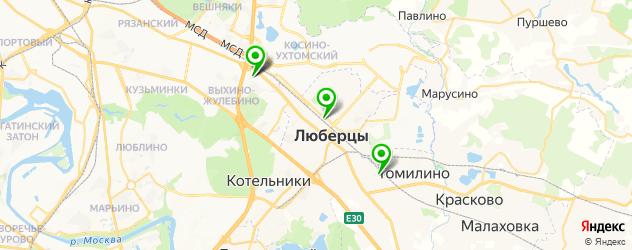установка автокондиционеров на карте Люберец
