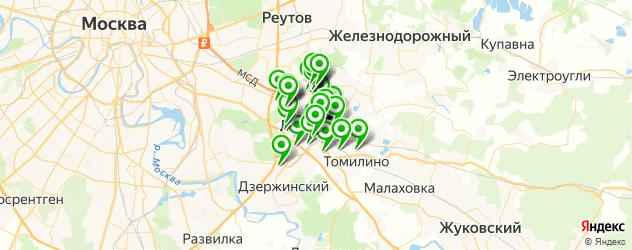 Бытовые услуги на карте Люберец