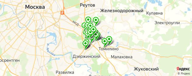 постные меню в ресторанах на карте Люберец