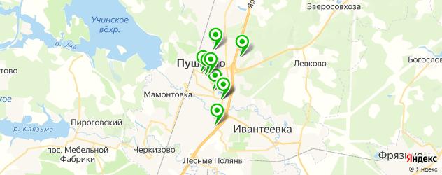 детская игровая комната на карте Пушкино