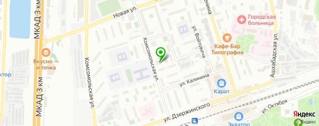 велнесы-клубы на карте Реутова